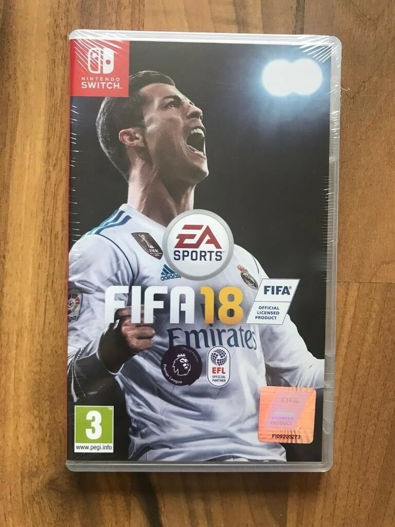 Fifa 18 Nintendo Switch Brand New Sealed Price Stands Swap