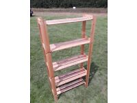 Wooden Racking Unit
