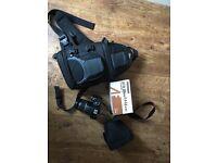 Canon EOS 450D DSLR Camera plus extra lens, case & bag