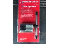 Rothenberger olive splitter