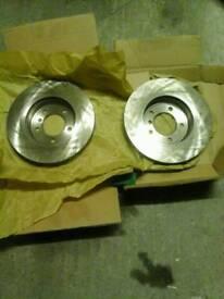 Brand new bmw front discs