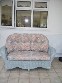 Good condition Two Seater and One Seater Conservatory Furniture