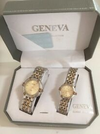 boxed set ladies and mens watches