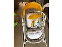 Moses basket / seat / swinging chair and crib
