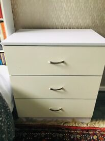 Cupboard and Drawer Set