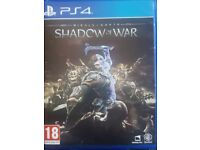 Ps4 Shadow of War (perfect condition)