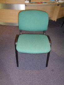 Chairs ideal for meeting or waiting room t otal of 60 chairs