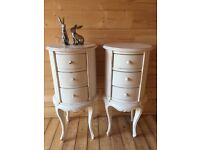 Beautiful solid bedside tables