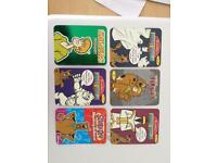 Collectible Scooby-Doo cards
