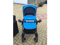 Silver Cross Wayfarer Travel System + BeSafe Car Seat & Isofix.