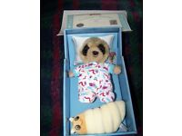Baby Oleg Meerkat still in box
