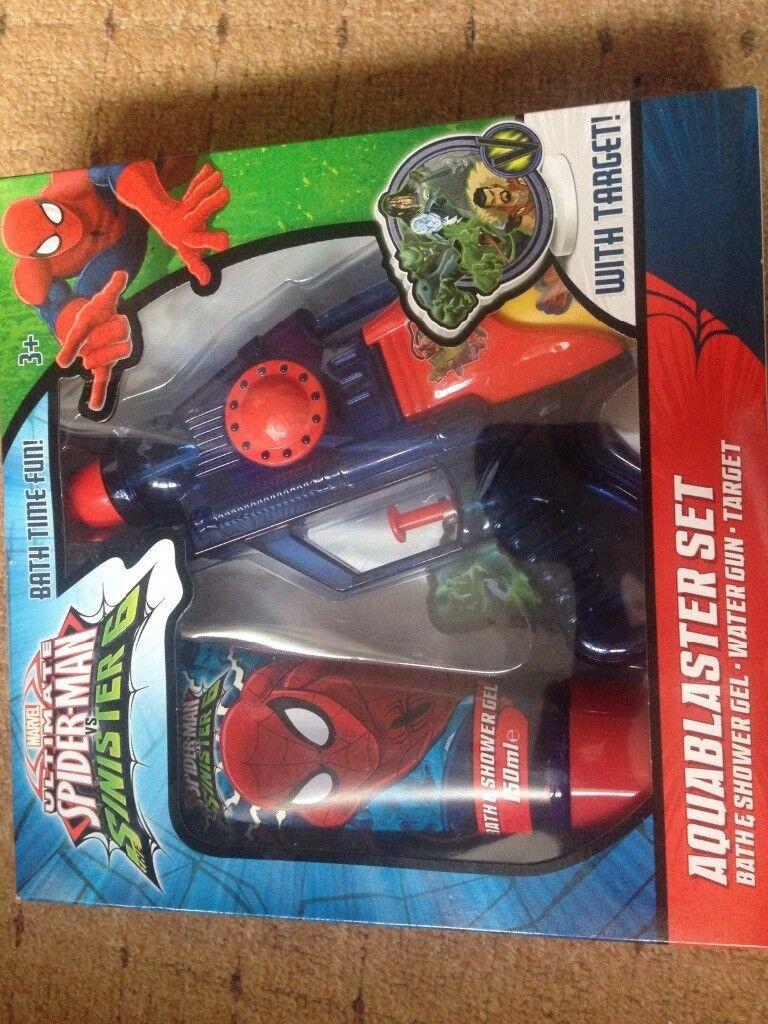 Spiderman gift set Xmas kids