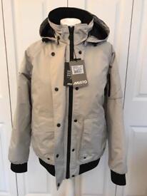 Musto Ladies 100% Down Jacket 'Volvo Ocean Sailing' Brand New size 10/12
