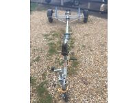 Boat Trailer Unbraked Good Condition. Max GVWeight 650kg. Mainly used in freshwater.