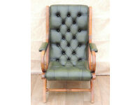 Slipper Chesterfield Chair (Delivery)
