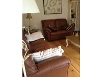 3&2 seater leather suite