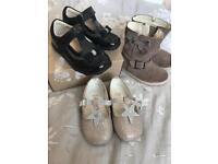 Bundle of girls size 4 shoes