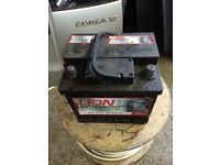 Used car battery in good working order 100%