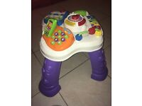 V Tech play and learn activity table.