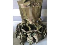 9 pouch airborne webbing