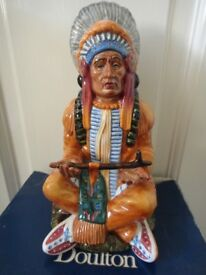 Rare Royal Doulton Indian The Chief HN2892 boxed in excellent condition can possibly deliver or post