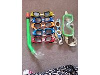 swimming glasses 2 sets