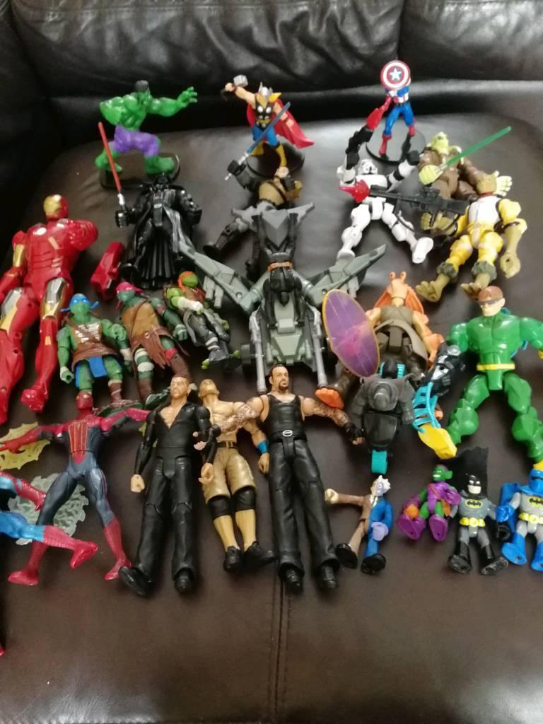 Super heroes, Avengers, Teenage Mutant Turtles