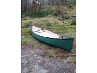 Ranger 16 canadian canoe plus extras