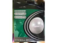 Pilate exercise gym ball