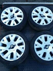4 citroen c4 wheels