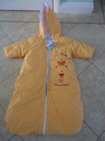 Sucre d'Orge Travel Sleeping Bag (0-6 months/68 cm long) BRAND NEW