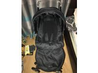 silver cross 3d pram/pushchair 2 in 1 with cosytoes & rain cover