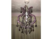 Chandelier light shades x 2
