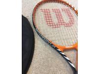 Junior wilson tennis racket.