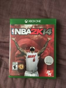 Xbox one nba 2k14 game (Negotiable)