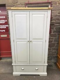 JB Global solid oak painted wardrobe * free furniture delivery *