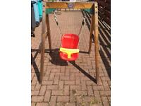 Toddler Plum outdoor Swing