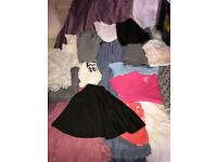 Girls clothes bundle 37 items age 10-11,11-12,12-13