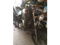 Honda varadero 125 spares or repairs