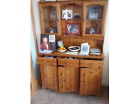 Honey Pine Welsh dresser