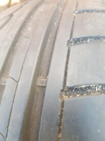 tyres were used for 1 month they look brand new