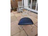 Wrought Iron Garden/Dining Chairs