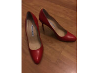 Original Manolo Blahnik for only £200 size 38. Real price £650