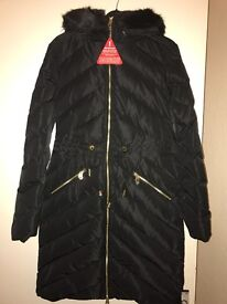 Ted Baker Down coat size 8