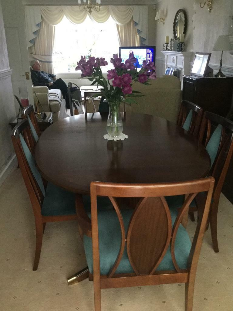 Dining Room Table And 6 Chairs Leeds West Yorkshire