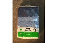 GEORGE CLOTHING - (BRAND NEW) MENS BRIEFS 6 PACK JERSEY