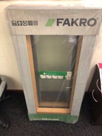 2 NEW FAKRO ROOF WINDOWS (BETTER THAN VELUX) IN PINE