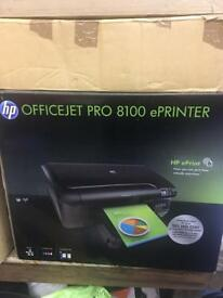 New unopened HP 8100 office jet pro