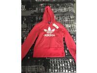 Brandnew still with tags Adidas hoddie