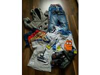 BUNDLE OF BOYS CLOTHES AGE 1,5-2 YRS